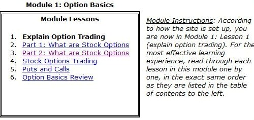 Learn option trading indian stock market